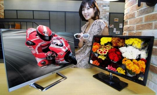 Új 3D-s IPS monitorcsalád az LG-től