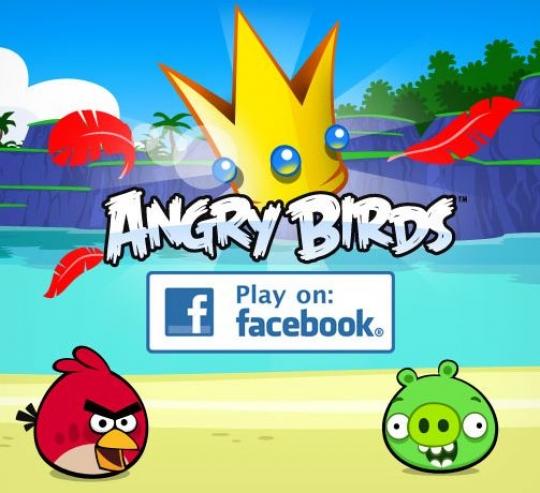 Angry Birds - támad a Facebookos verzió!