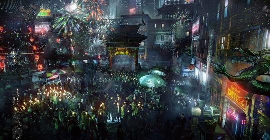 Hitman: Absolution - tömeg technológia bemutató a GDC 2012-n