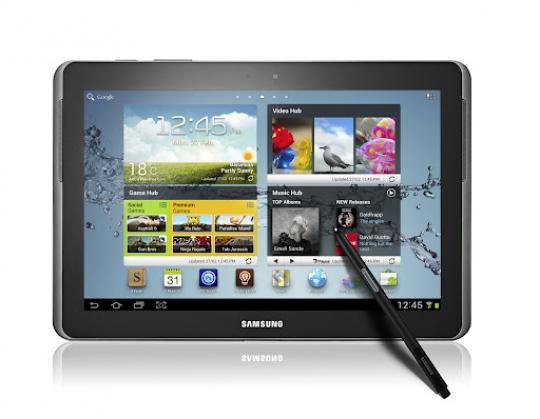 Jön a Samsung Galaxy Note 10.1