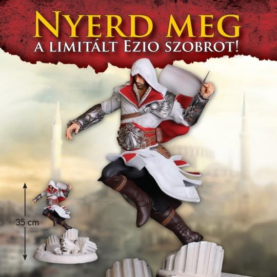Ezio szobrot nyerhetsz az Assassin's Creed: Revelations - Ottoman Editionnel