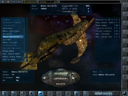 Megjelent iPadre az Imperium Galactica II