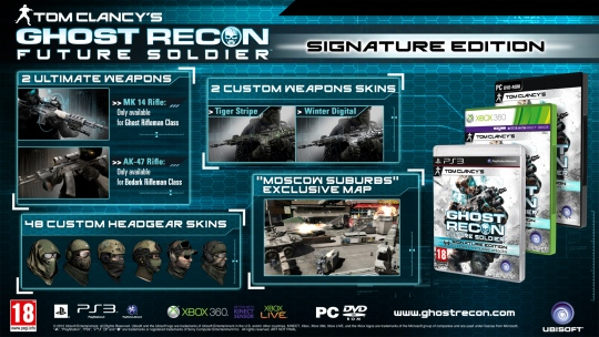 Ghost Recon: Future Soldier -  Signature Edition PC-re is