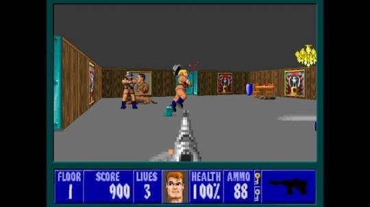 Wolfenstein 3D, az ingyenes böngészős játék