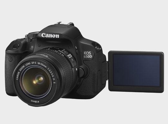 Hamarosan érkezik a Canon EOS 650D
