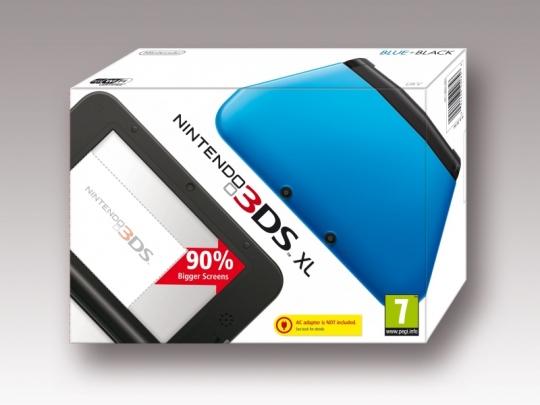 Nagyképernyős 3D kézikonzol: jön a Nintendo 3DS XL