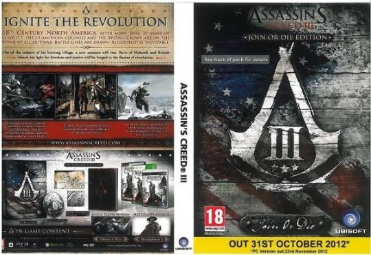 Assassin's Creed 3 - PC-s csúszásra van esély?