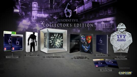 Resident Evil 6 - bemutatták a gyűjtői kiadást