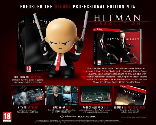 Hitman: Absolution Deluxe Professional Edition