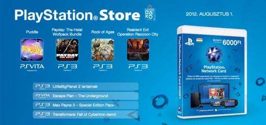 PlayStation Store - heti megjelenések - 31. hét