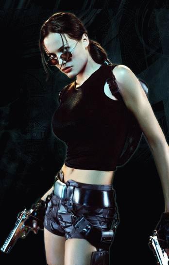Új Lara Croft modell