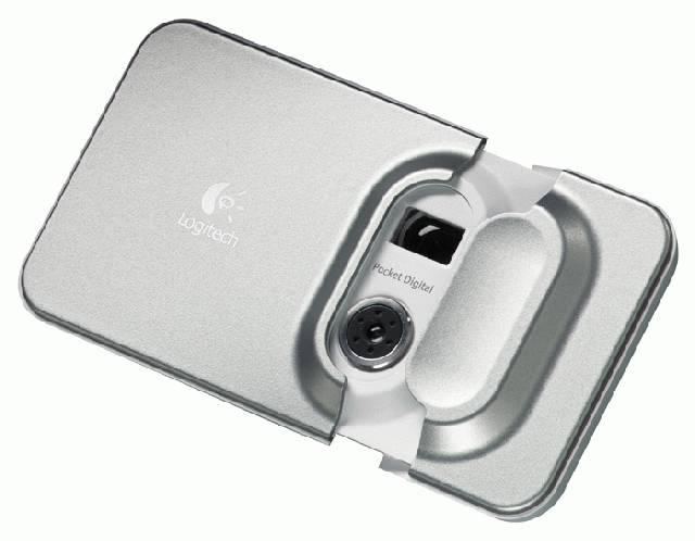 Digitális fényképezőgép a Logitechtől