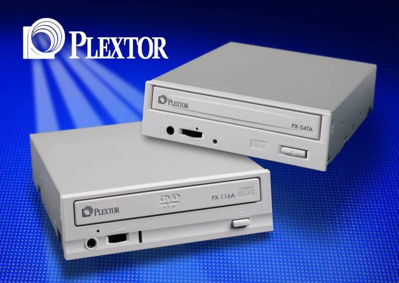Új CD és DVD meghajtók a Plextortól