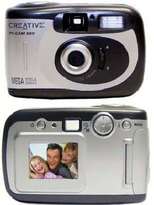 2 megapixeles Creative webkamera-fényképezőgép