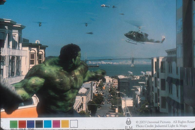 A Hulk rendezője kiakasztotta a trükkmestereket
