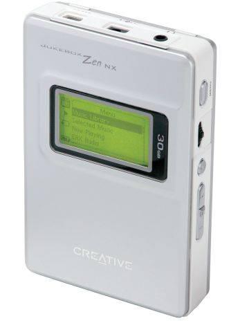 Creative Jukebox Zen NX 30 GB-os MP3 játszó