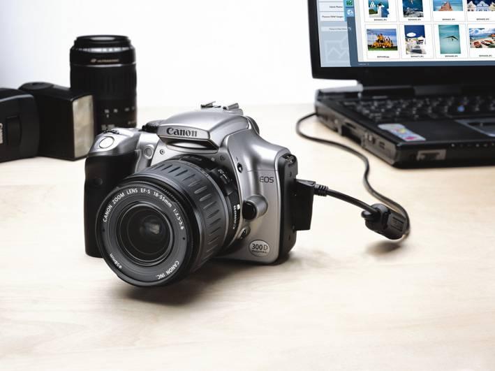 Canon EOS 300D: Új digitális tükörreflexes fényképezőgép