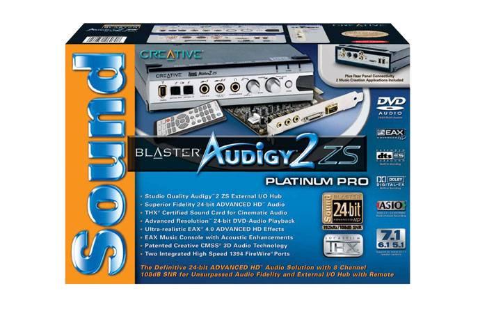 THX minősítésű 7.1-es Sound Blaster kártyák