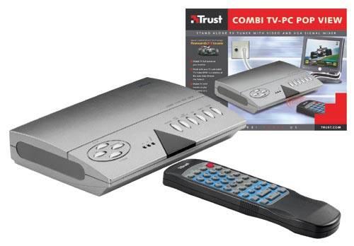 Külső TV tuner PC-s monitorhoz