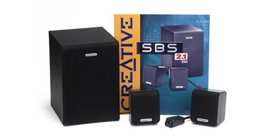 SBS350: 2.1-es Creative hangszóró