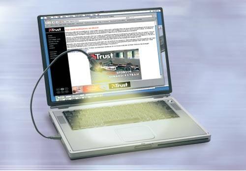 USB-s lámpa notebookokhoz