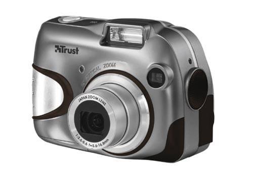3 megapixeles Trust fényképezőgép optikai zoommal