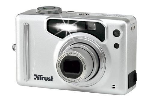 3,1 megapixeles Trust fényépezőgép 3-szoros zoommal