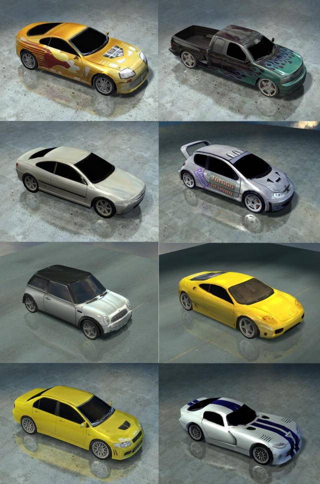 Road to Fame autók
