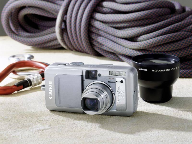 Új 5 megapixeles gép a Canon S sorozatában