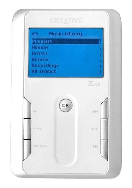 Újabb 20 GB-os Creative MP3 játszó