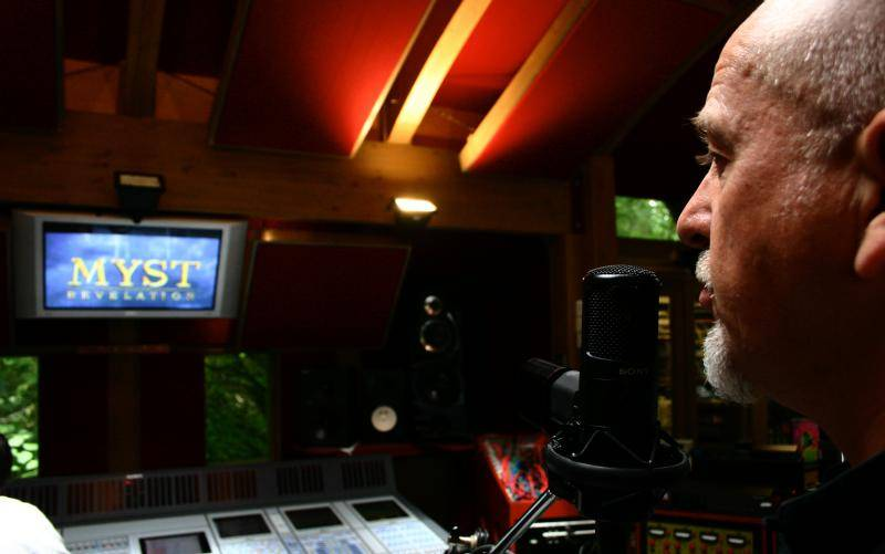 Peter Gabriel is segített a Myst IV-nél