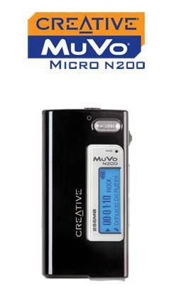 Új MuVo MP3 játszók