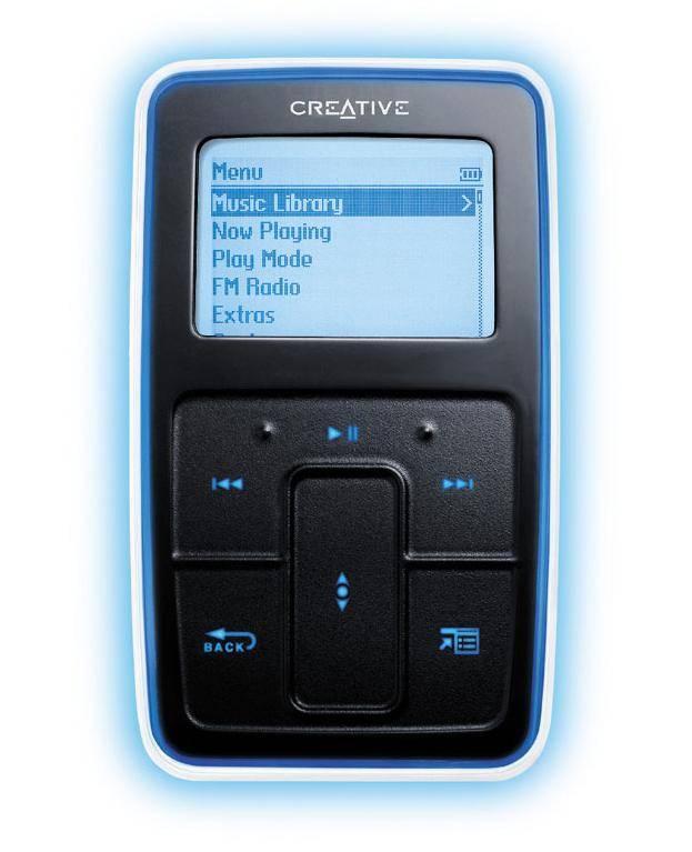Creative Zen Micro kisméretű 5 GB-os MP3 jászó