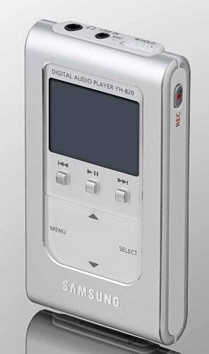 Új Samsung MP3 játszó 5 GB merevlemezzel