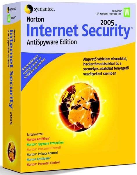 Norton Internet Security 2005 AntiSpyware Edition