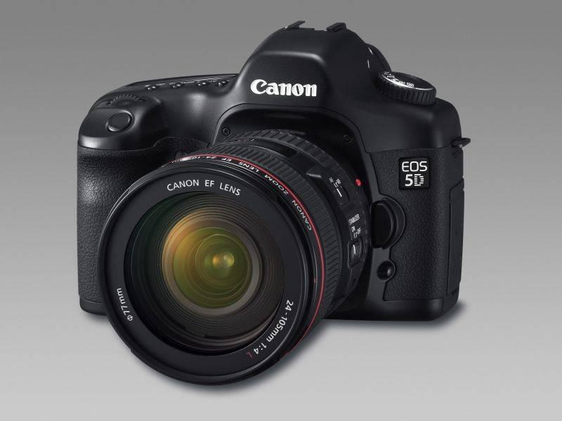 EOS 5D: új tükörreflexes digitális fényképezőgép a Canontól