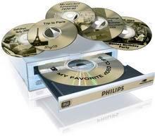 Philips DVDR16LS LightScribe írással