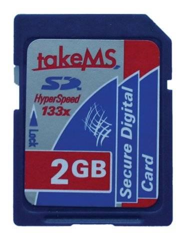 133-szoros sebességű SD kártya a takeMStől