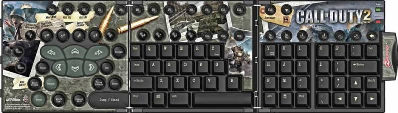 Call of Duty 2 billentyűk a Zboardhoz