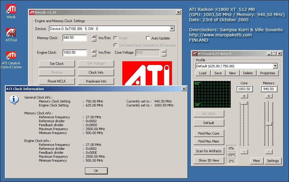 1 GHz-re pörgetett Radeon X1800 XT
