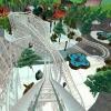 Vidámpark tycoon Disney-módra