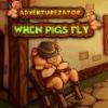 Kickstarteren az Adventurezator: When Pigs Fly