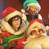 Hógolyócsatás karácsonyi ünnepség az Overwatch-ban