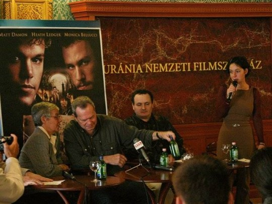 Budapesten járt Terry Gilliam