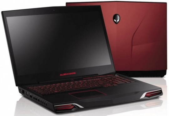 Alienware M14x gamer notebook