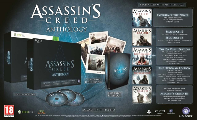 Assassin's Creed Anthology bejelentés