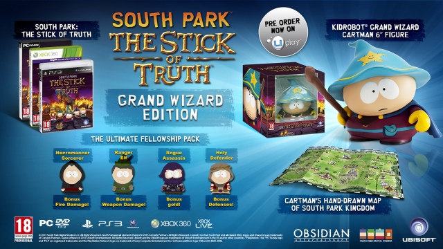 Megjelenési dátumot kapott a South Park: The Stick of Truth