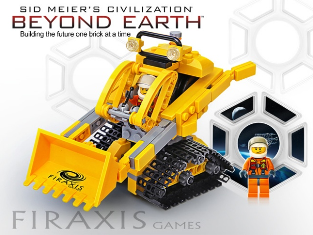 Sid Meier's Civilization: Beyond Earth LEGO-ból