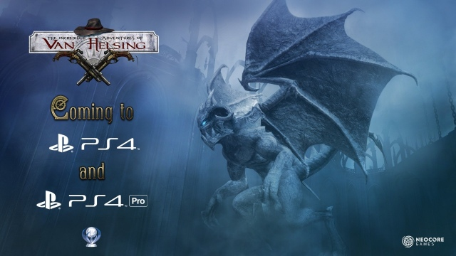The Incredible Adventures of Van Helsing PS4-re és PS4 Próra