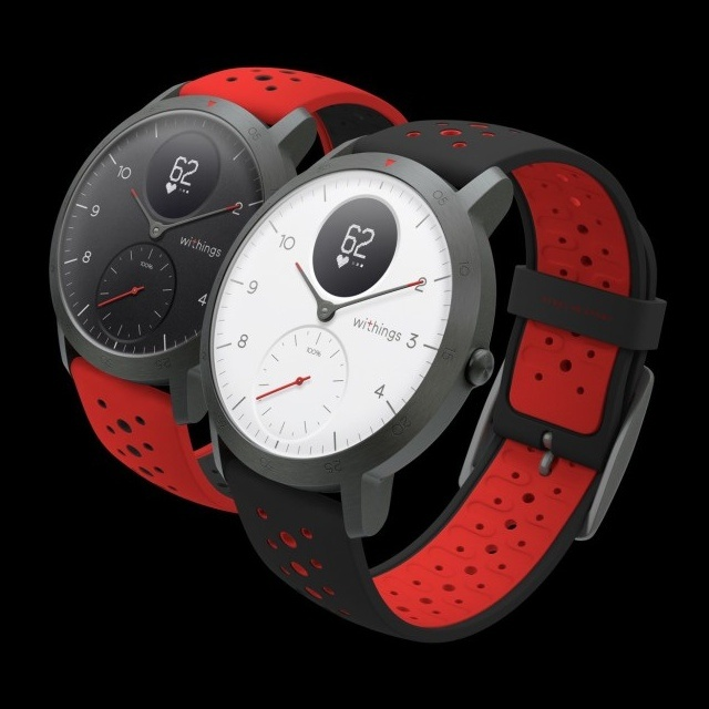 Withings Steel HR Sport – A sportosan elegáns okosóra